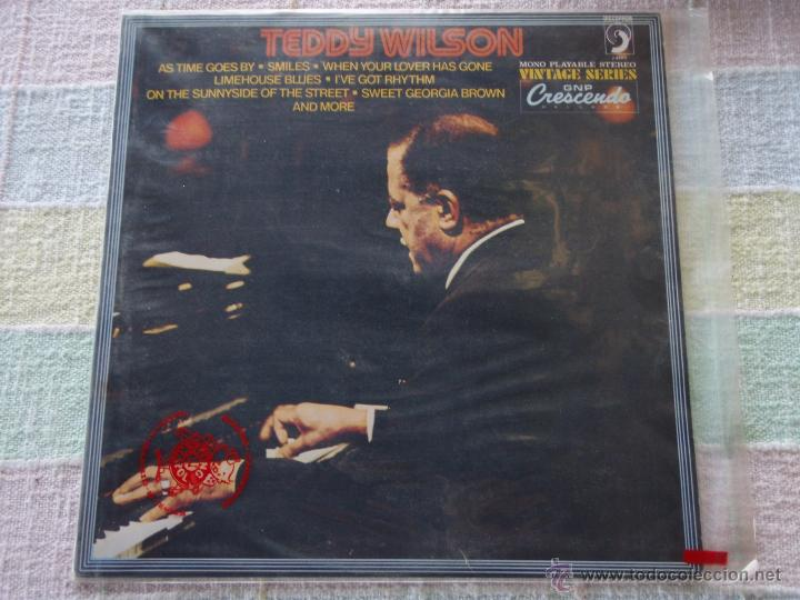 TEDDY WILSON ( TEDDY WILSON ) 1981 - SPAIN LP33 DISCOPHON (Música - Discos - LP Vinilo - Jazz, Jazz-Rock, Blues y R&B)