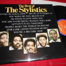 Discos de vinilo: THE STYLISTICS THE BEST OF LP 1974 AVCO EDICION INGLESA ENGLAND EXCELENTE ESTADO. Lote 50956389
