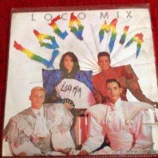 Discos de vinilo: LOCOMIA SG. LOCO MIX PROMO. Lote 50957918