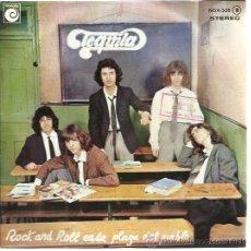 Disques de vinyle: TEQUILA EP NOVOLA 1978 ROCK N ROLL EN LA PLAZA DEL PUEBLO/ EL AHORCADO/ LAS VIAS DEL FERROCARRIL. Lote 50959677