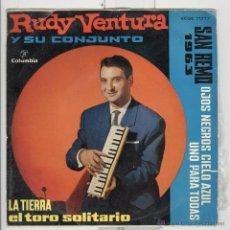 Discos de vinilo: RUDY VENTURA . SAN REMO 1963. VERGARA . Lote 50960468