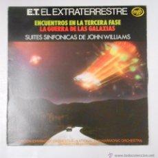 Discos de vinilo: ET EL EXTRATERRESTRE. ENCUENTROS EN LA TERCERA FASE. LA GUERRA DE LAS GALAXIAS JOHN WILLIAMS. TDKDLT. Lote 50960633