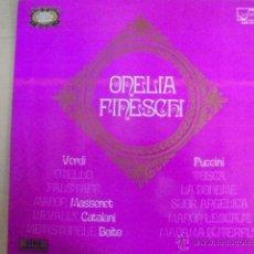 Discos de vinilo: ONELIA FINESCHI - OBRAS DE VERDI / PUCCINI / CATALANI / MASSENET / BOITO - ENVIO GRATIS. Lote 50962021