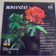 Discos de vinilo: ROMANZAS - HAGEN / ORQUESTA VIENA - CHOPIN LISZT ALBENIZ GRIEG MASCAGNI RUBINSTEIN BRAHMS. Lote 50962464