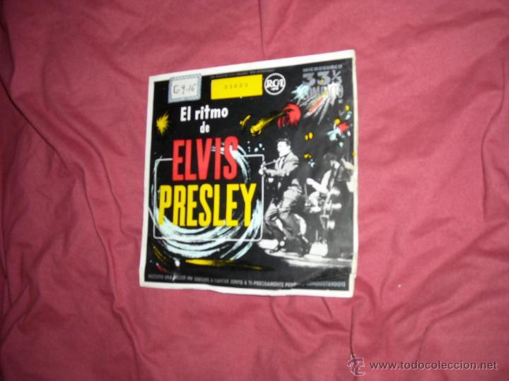 EL RITMO DE ELVIS PRESLEY EP 1958 RCA SPA VER FOTO ADICION ALES (Música - Discos de Vinilo - EPs - Rock & Roll)