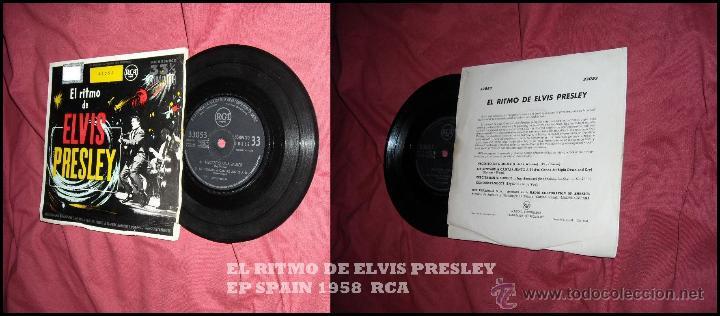 Discos de vinilo: EL RITMO DE ELVIS PRESLEY EP 1958 RCA SPA VER FOTO ADICION ALES - Foto 5 - 50969850
