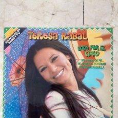 Discos de vinilo: LP TERESA RABAL - LOCA POR EL CIRCO - MOVIE PLAY 1982.. Lote 50970542