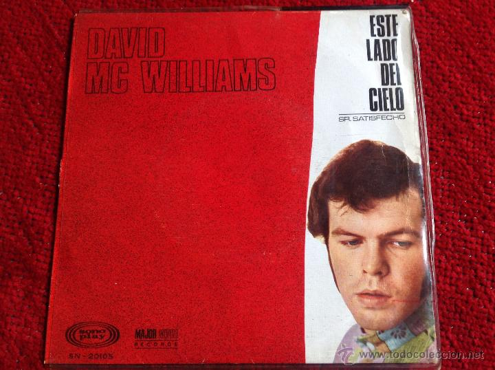 DAVID MC WILLIAMS SG. THIS SIDE OF HEAVEN (Música - Discos - Singles Vinilo - Pop - Rock Extranjero de los 50 y 60)