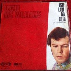 Discos de vinilo: DAVID MC WILLIAMS SG. THIS SIDE OF HEAVEN. Lote 50971249