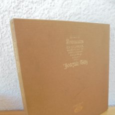 Discos de vinilo: CANCIONERO DE ROMANCES EN QUE ESTAN RECOPILADOS LA MAYOR PARTE DE ROMANCES CASTELLANOS.J.D.. Lote 50971711