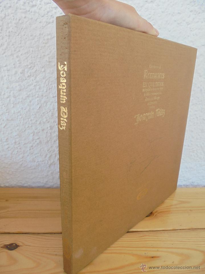 Discos de vinilo: CANCIONERO DE ROMANCES EN QUE ESTAN RECOPILADOS LA MAYOR PARTE DE ROMANCES CASTELLANOS.J.D. - Foto 2 - 50971711