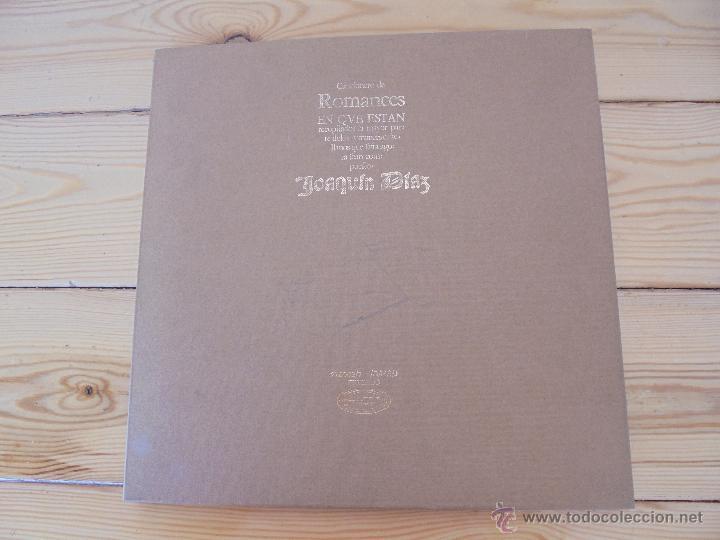 Discos de vinilo: CANCIONERO DE ROMANCES EN QUE ESTAN RECOPILADOS LA MAYOR PARTE DE ROMANCES CASTELLANOS.J.D. - Foto 3 - 50971711