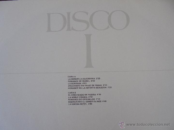 Discos de vinilo: CANCIONERO DE ROMANCES EN QUE ESTAN RECOPILADOS LA MAYOR PARTE DE ROMANCES CASTELLANOS.J.D. - Foto 10 - 50971711