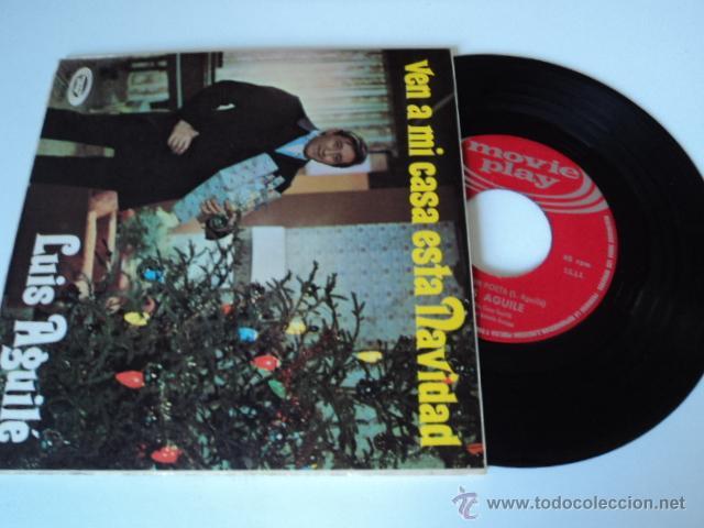 DISCO SINGLE LUIS AGUILE (Música - Discos de Vinilo - EPs - Solistas Españoles de los 70 a la actualidad)