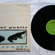 Discos de vinilo: GENERAL PUBLIC - TENDERNESS (2 VERSIONES) / LIMITED BALANCE (MAXI 1984). Lote 50973737