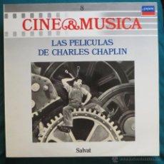 Discos de vinilo: LAS PELICULAS DE CHARLES CHAPLIN. Lote 50974342