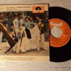 Discos de vinilo: DISCO SINGLE EP RITMOS TROPICALES. Lote 50974823