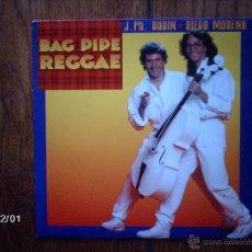 Discos de vinilo: J. PH. AUDIN, DIEGO MODENA - BAG PIPE REGGAE + GIRL FROM KEY BISCAYNE . Lote 50977264
