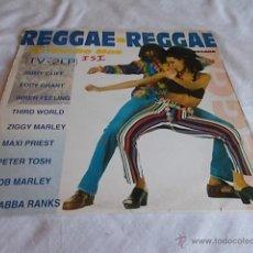 Discos de vinilo: REGGEA - REGGAE ES MUCHO MAS 2 LP.. Lote 50977551