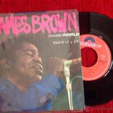 Discos de vinilo: JAMES BROWN SG. WORLD ( PART 1 & 2). Lote 50977601
