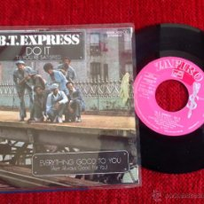 Discos de vinilo: B.T.EXPRESS SG. DO IT. Lote 50978017