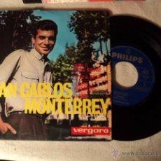 Discos de vinilo: DISCO SINGLE JUAN CARLOS MONTERREY AHORA TE PUEDES MARCHAR. Lote 50978403