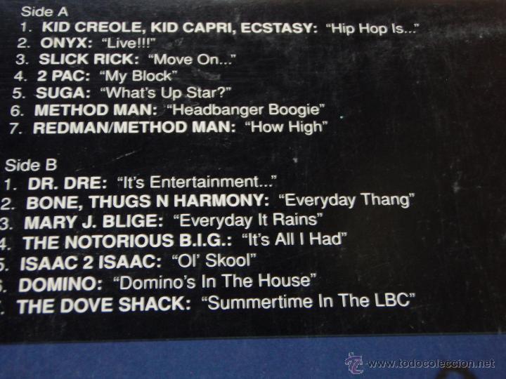 Discos de vinilo: Various – The Show (Original Soundtrack) 2 Vinyls USA,1995 Def Jam Recordings - Foto 4 - 50979743