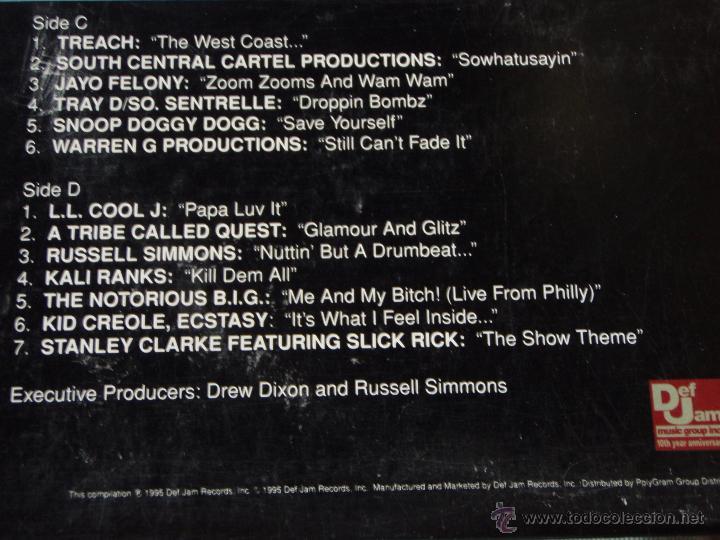 Discos de vinilo: Various – The Show (Original Soundtrack) 2 Vinyls USA,1995 Def Jam Recordings - Foto 5 - 50979743