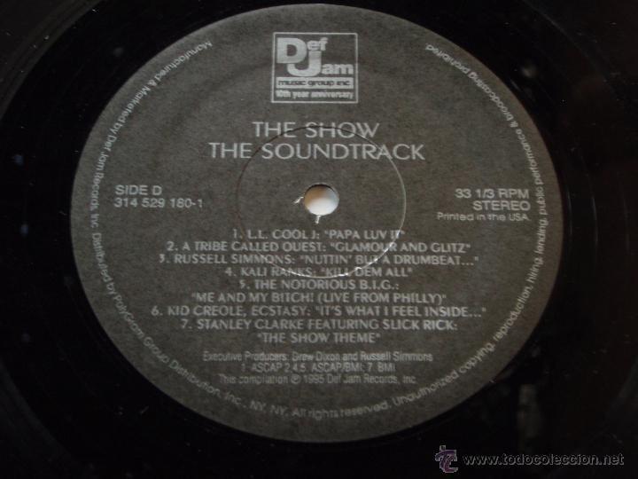 Discos de vinilo: Various – The Show (Original Soundtrack) 2 Vinyls USA,1995 Def Jam Recordings - Foto 6 - 50979743