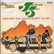 Discos de vinilo: JACKSON 5 / DULCE PAPA / SOY FELIZ (SINGLE PROMO 1972). Lote 50981932