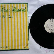Discos de vinilo: HAIRCUT ONE HUNDRED - LOVE PLUS ONE / CALLING CAPTAIN AUTUMN / FAVOURITE SHIRTS (MAXI PROMO 1982). Lote 50982271