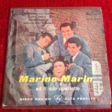 Discos de vinilo: MARINO MARINI Y SU CUARTETO EP GIOVANNINO ALLA TORRETTA + 3 TEMAS. Lote 50985358