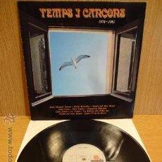 Discos de vinilo: TEMPS I CANÇONS. 1976-1981. LP / ARIOLA - 1981. VINILO DE BUENA CALIDAD. ***/***. Lote 50985572