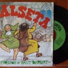 Discos de vinilo: SALSETA, LA - ELS MONJOS DE SANT BERNAT (SALSETA 1990) SINGLE - MIQUEL PUJADO. Lote 50989803