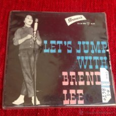 Discos de vinilo: BRENDA LEE EP LET´S JUMP THE BROOMSTICK + 3 TEMAS. Lote 50990869