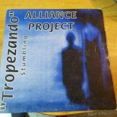 Discos de vinilo: ALLIANCE PROJECT. TROPEZANDO MAXI 12 . Lote 50993478
