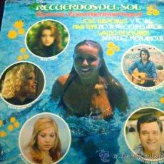 Discos de vinilo: RECUERDOS DEL SOL. LOS ÁNGELES, KARINA, MARI TRINI, JOSÉ LUIS PERALES, ETC. LP DE VINILO HOLANDA. Lote 35538560