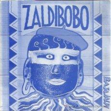 Discos de vinilo: ZALDIBOBO SG ELKAR 1992 UHAINA/ LURRA . Lote 50994818