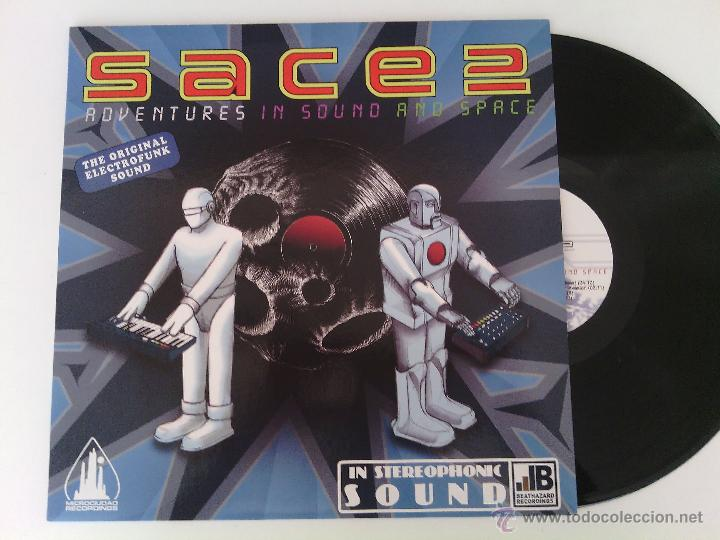 LP SACE 2 - ADVENTURES IN SOUND... / 2009 ORIG. PRESS / ELECTRO OLD SCHOOL RAP HIP HOP ESPAÑOL !!!!! (Música - Discos - LP Vinilo - Rap / Hip Hop)