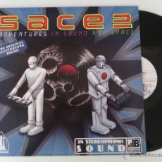 Discos de vinilo: LP SACE 2 - ADVENTURES IN SOUND... / 2009 ORIG. PRESS / ELECTRO OLD SCHOOL RAP HIP HOP ESPAÑOL !!!!!. Lote 261789995