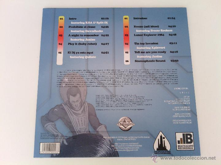 Discos de vinilo: LP SACE 2 - ADVENTURES IN SOUND... / 2009 orig. press / ELECTRO OLD SCHOOL RAP HIP HOP ESPAÑOL !!!!! - Foto 2 - 261789995