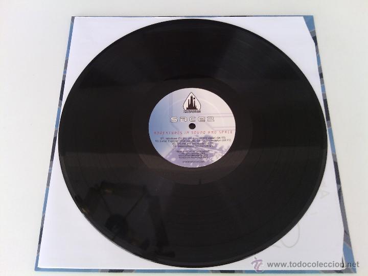 Discos de vinilo: LP SACE 2 - ADVENTURES IN SOUND... / 2009 orig. press / ELECTRO OLD SCHOOL RAP HIP HOP ESPAÑOL !!!!! - Foto 5 - 261789995