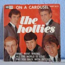Discos de vinilo: THE HOLLIES - ON A CAROUSEL // EP 4 CANCIONES // 1967. Lote 51002983