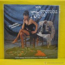 Discos de vinilo: VERONICA REYES - PASODIOBLES INMORTALES - LP. Lote 51007499