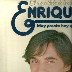 Discos de vinilo: ENRIQUE LP PORTADA DOBLE SELLO HISPAVOX AÑO 1977 EDITADO EN ESPAÑA. Lote 51007508