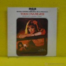 Discos de vinilo: VLADIMIR COSMA - TODA UNA MUJER - BSO - SINGLE. Lote 51007711
