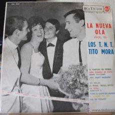 Discos de vinilo: LP LA NUEVA OLA (VOL II) - LOS T.N.T. (CARA A) Y TITO MORA (CARA B), AÑO 1963 RCA VICTOR LPM 10.227. Lote 51011729