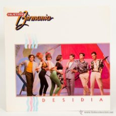 Discos de vinilo: OBJETIVO BIRMANIA - DESIDIA/TONGO - MAXI SINGLE SPAIN 1984. Lote 51017497