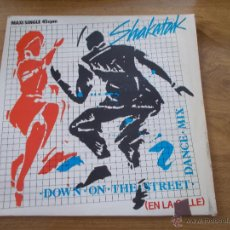 Discos de vinilo: SHAKATAK DOWN ON THE STREET MAXI 12. Lote 51023766