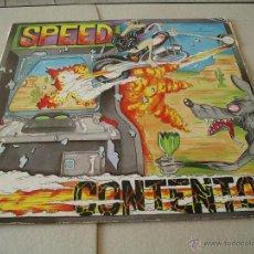 Discos de vinilo: SPEED LP CONTENTO! LA GENERAL ORIGINAL ESPAÑA 1989 INCLUYE LETRAS. Lote 51026172